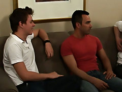 Teen jerking gay men group and gays in group porno