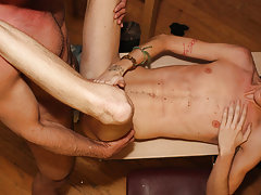 Teen boy hot smooth chest arms uncut dick and indian pornstars penis pics at Teach Twinks