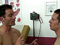 After I collected Chase's cum sample off of my chest I told him in order for the success of this fast and efficient test we have to have my cum f