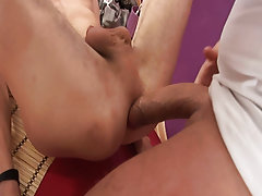 Men group masturbation and group gay anal sex at Crazy Party Boys