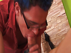 Gay group blowjob and gay group at Crazy Party Boys