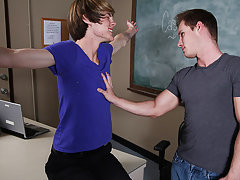 Twink gay fuck clips and twink boys desperation at Teach Twinks