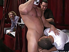 Images twink lesbians and silver daddies with twinks at Sausage Party