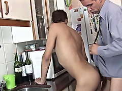 After a gorgeous hectic night, the ebony twinkie boyfriend was in need of a priceless breakfast first blowjob gay
