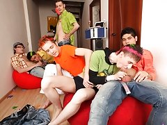 Be ready with your swollen cocks teen gays group at Crazy Party Boys