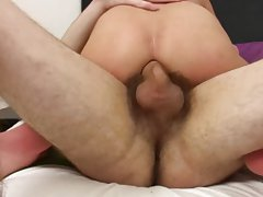 Asian gay bareback pics and gay twink taken advantage of by by daddy bear at Staxus