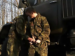 Free gay military bubble ass porn and naked men military bondage