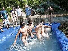 I mean its not embarrassing enough playing nude in a wicked fake pool gay videos big cock groups