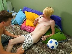 Preston's big cock is quite persuasive, because after these two sixty-nine, Evan gets on all fours to have his butt pounded gay twinks movie gall