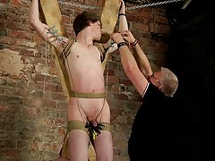 Teen cock gay bondage and male breast bondage - Boy Napped!