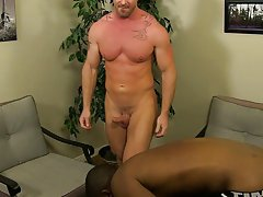 Teen gay boys cumming into slip and man and anal sex at My Gay Boss