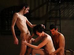 Group male sex and hot gay guy group sex - Gay Twinks Vampires Saga!