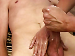 Buff black male naked solo masturbation and extreme male masturbation hardcore film