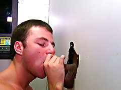 Little did he know blowjob gag gay