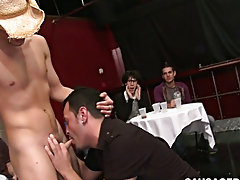 Fat booty twink fucked hard and super buff twink pics at Sausage Party