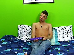 Bryan is joined by Jacob Marteny, as a second cameraman, to film a solo with Ryan Sharp amtuer gay twink at Boy Crush!