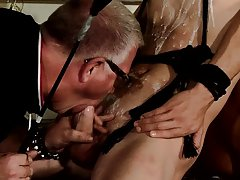 Male bondage mistress and gay strap on bondage - Boy Napped!