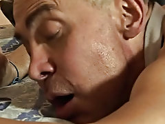 The twink woke up, and, feeling hornier than hell, turned his lover over and slammed his reserved dick straight into his poop chute free gay hardcore