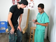 Wet-nurse AJ had told me that I could put my underwear on, but as done as I took a seat on the table, he told me to take them off again amateur teen b