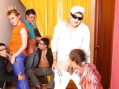 What to do when you just can't make this puzzle together hot gay hunk group sex at Crazy Party Boys
