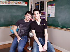 They're annoyed but they do the employment anyway because they don't want to get in trouble first time gay blowjob at Teach Twinks