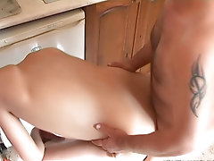 This story starts in the kitchen, when a young stud is cooking lunch gay porn hunks