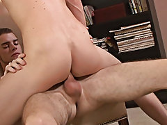 Reese and Taylor kiss as they pull their clothes afar and claw each other's hard to find bodies toms gay anal intercours