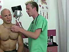 The hot coach unloaded his hot cum all over my face, chest and pants gay doctor blowjob