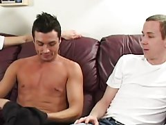 Cum envisage if two huge cocks is ample supply to satisfy this greedy sex fiend gay naked hunk movies