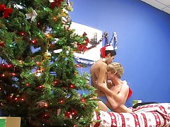 Felix and Liam swap presents in this hot bareback video gay nude twinks