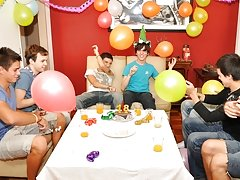 Twinks Happy Birthday party free gay twink archive at Julian 18