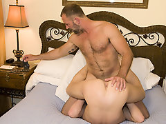 Gay rookie Luke came to us with his fantasy of being nailed by his favorite hung stud porn star, so we obliged him by bringing over Parker and his gig