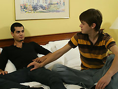 So with his sister gone, Jaymz gets Nate alone and offers his stiff cock up in search Nate to do with what he want free gay twink pictur