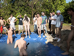 as chastisement for losing these grievous pledges had to suck each their below average in look of their brothers and fellow pledges all male nudist gr