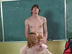 He needs to feel his tight ass against his dick in the future he's totally satisfied gay porn cowboys twink at Teach Twinks