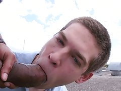 JJ is a youngster who always had a fantasy of a big black cock getting shoved up his crack big hard gay cock