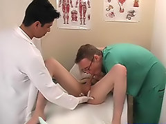 I was getting turned on and getting a boner as I got MD and had my prostate examined seniors first time gay sex