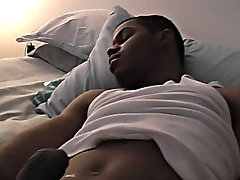 Brendan is really into it and before long he is willing to cum long gay black cock