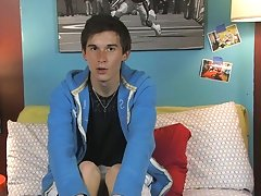 Skyelr Bleu is on camera giving an interview and he's completely charming gay twinks piss
