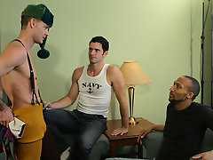 Tristan swaps out one chap-viands monster for another, spreading his anal baksheesh-bag wide for some hardcore yuletide present pushing free gay clips