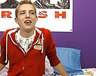 He was very horny to take part in this interview and it definitely shows first symptoms of menopause at Boy Crush!