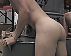 Once Kameron finishes, Nevin throws Kameron down and blows a creamy, opaque, goeey load all over his look out on male de