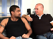 His first huge cock gay male interracial videos